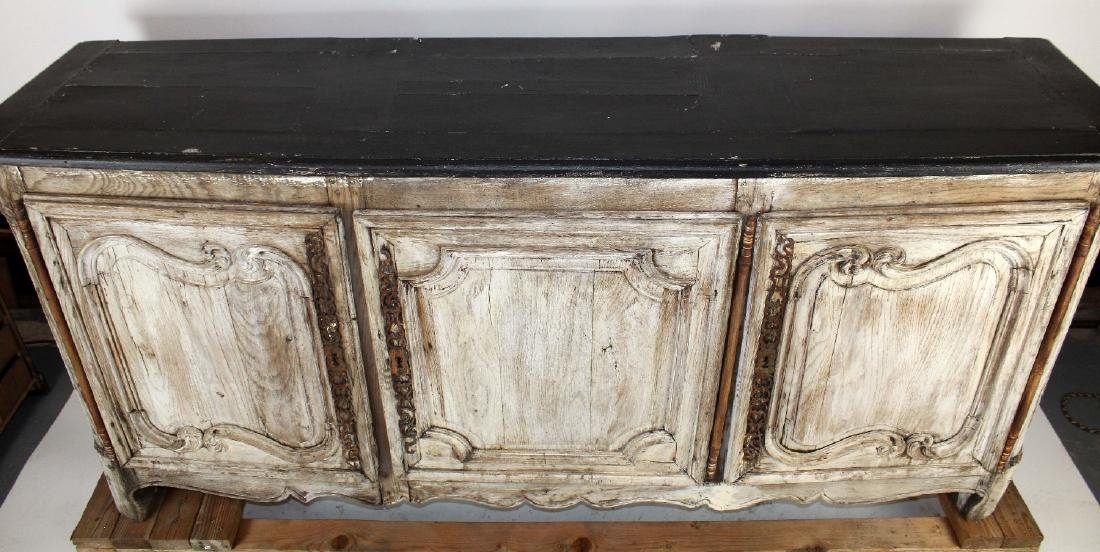 French painted Louis XV 3 door enfilade - 3