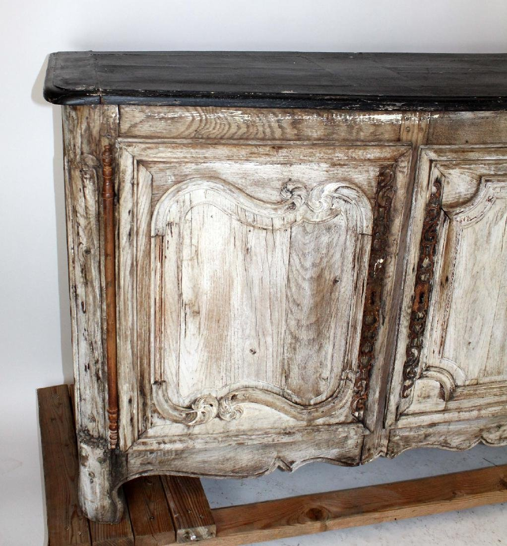 French painted Louis XV 3 door enfilade - 4