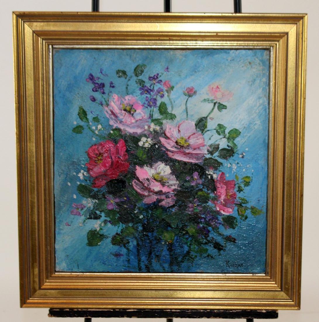 Max Kuehne (1880-1968) oil on canvas stillife - 3