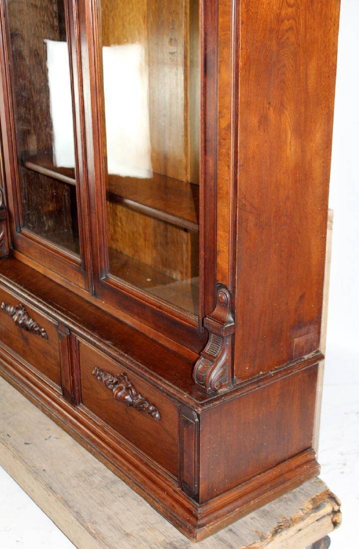 American Victorian 2 door bookcase - 2