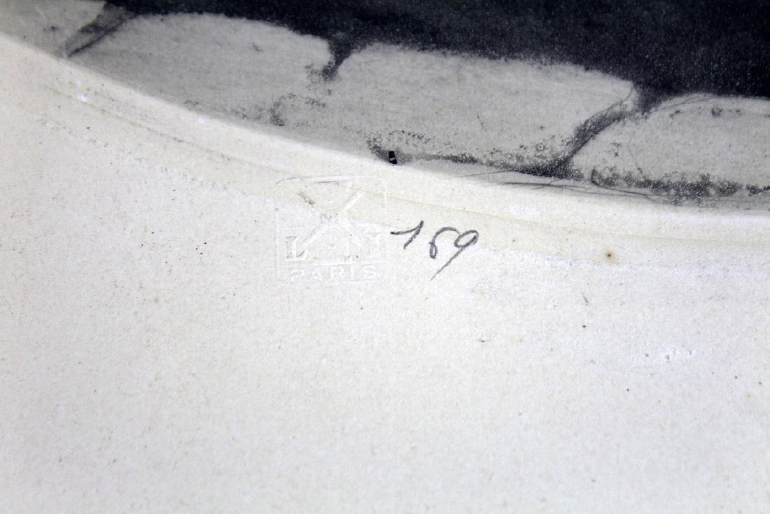 Louis Icart drypoint etching 1850 - 6