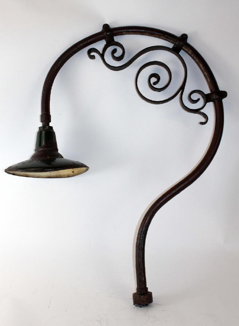 French Iron street light