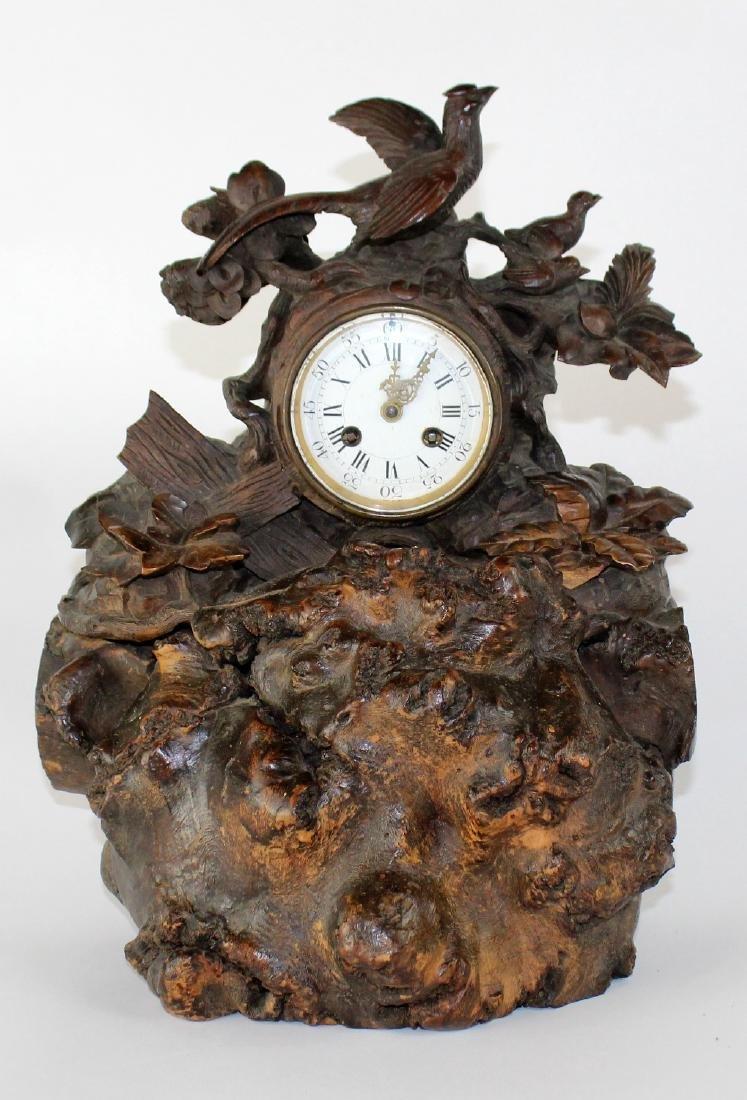 Farret a Paris, French Black forest clock