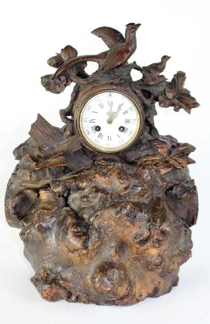 Farret a Paris, French Black forest clock - 3