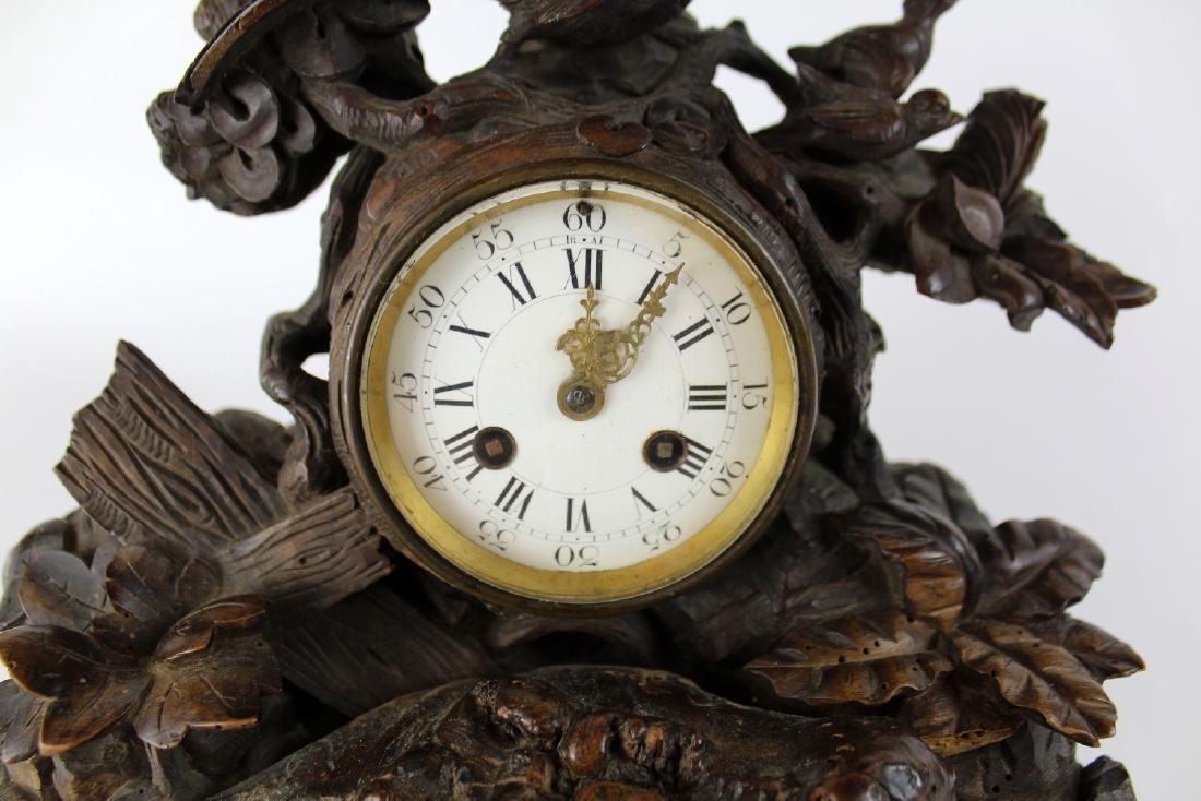 Farret a Paris, French Black forest clock - 4