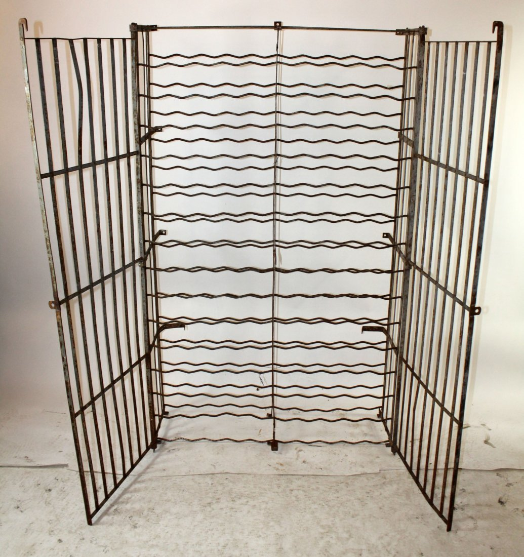 French iron wine cage - 2