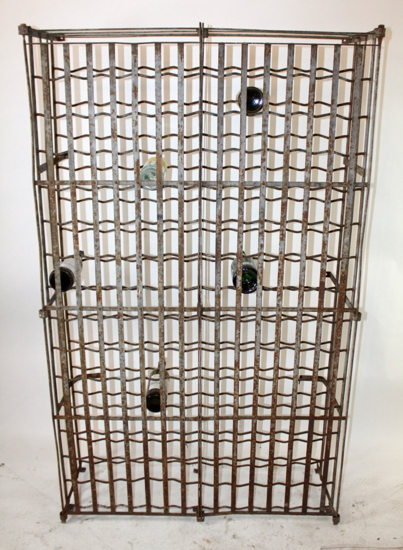 French iron wine cage - 4