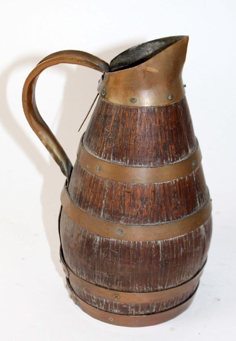 French Alsacian wine pitcher