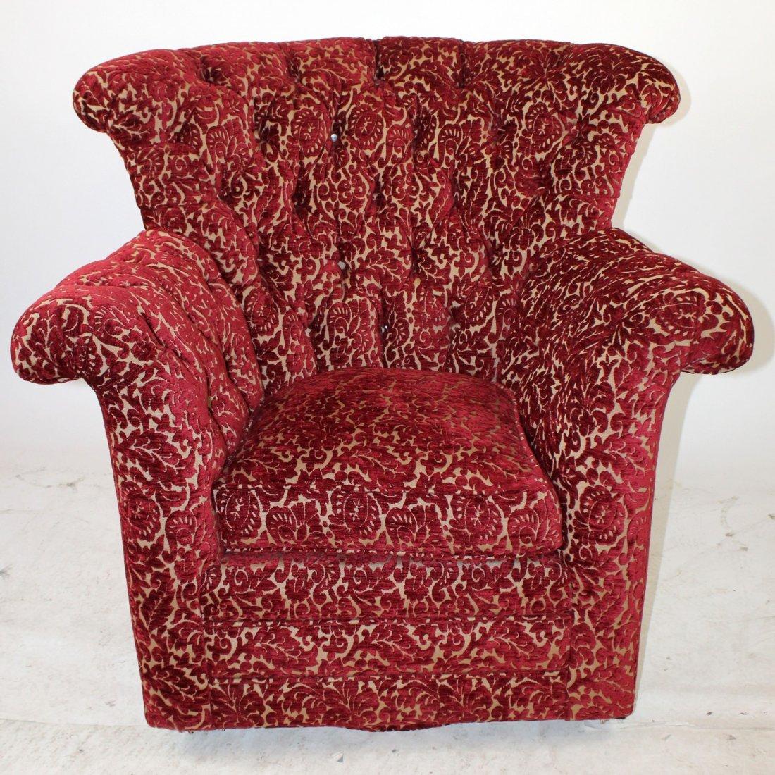 Superior Century Furniture Tufted Amchair