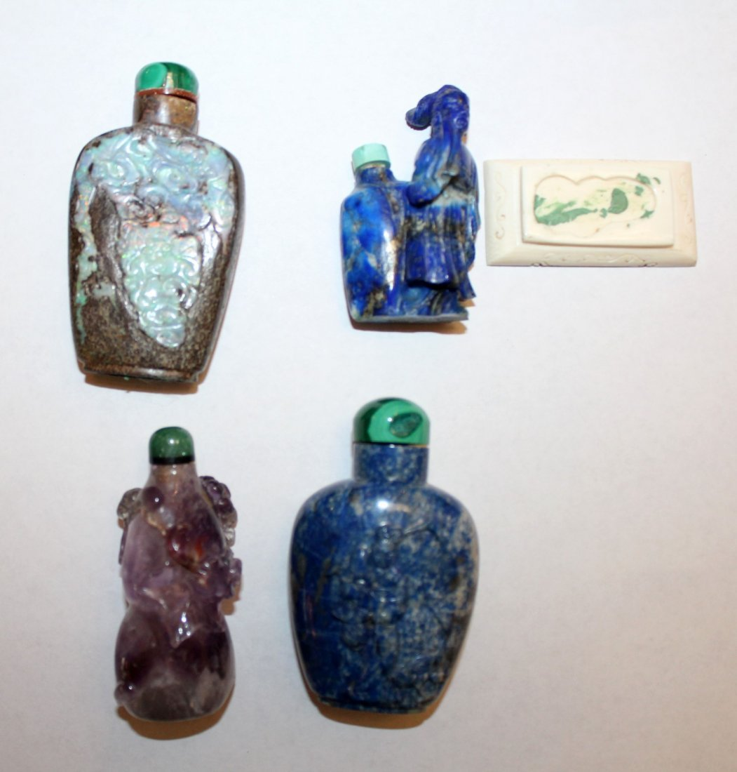Collection of 12 Chinese snuff bottles - 5