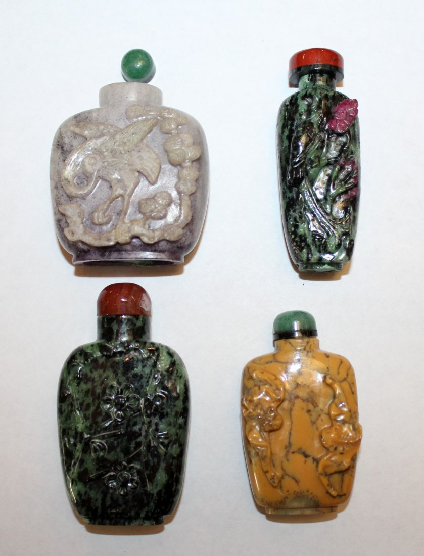 Collection of 12 Chinese snuff bottles - 3