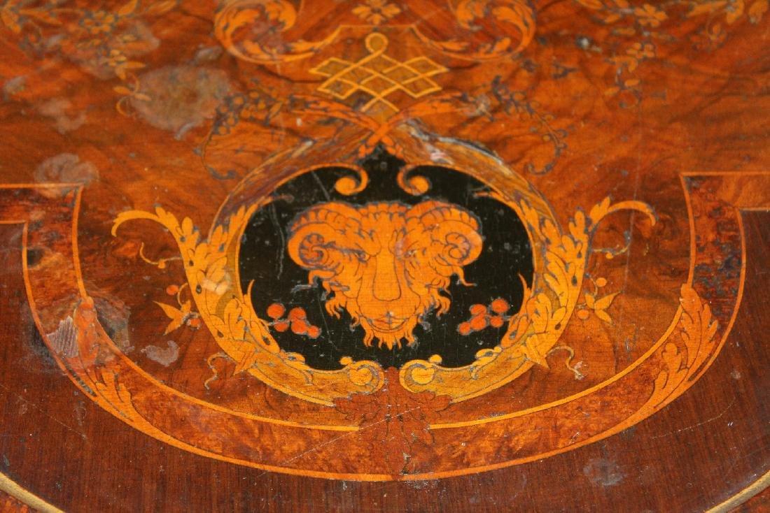 American Renaissance Revival parlor table - 6