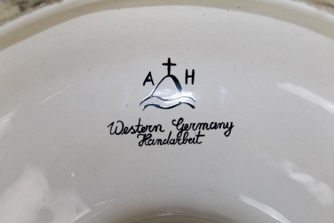 German Handarbeit apothecary jar - 2
