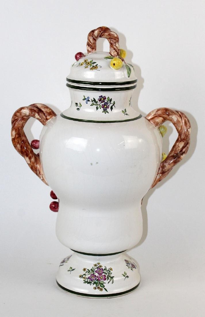 German Handarbeit apothecary jar - 6