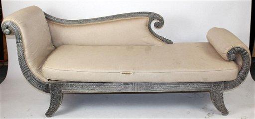 William Iv Style Recamier Sofa Nov 19