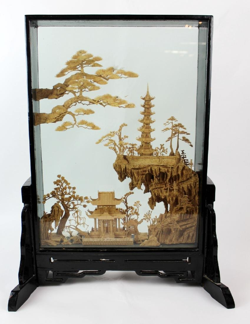 Japanese wood carving