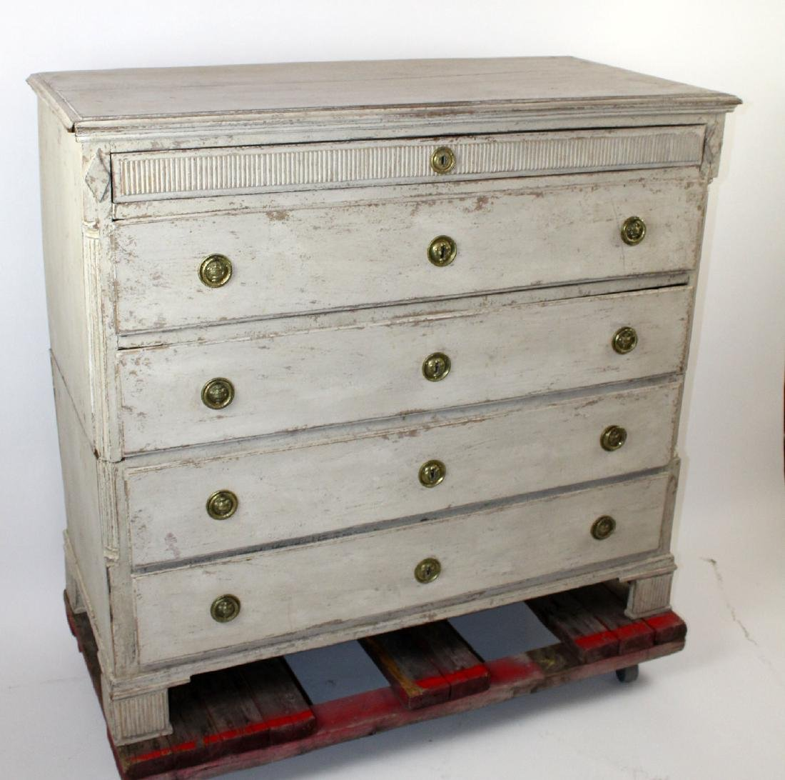 French Directoire painted  commode - 3