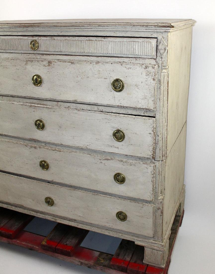French Directoire painted  commode - 5