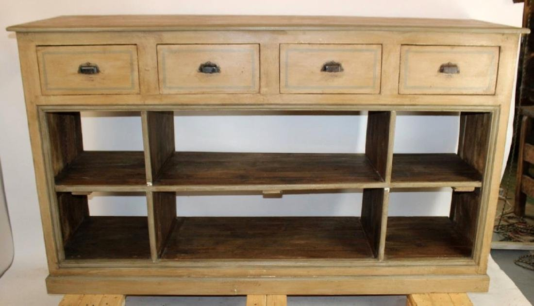 French Louis Philippe painted sideboard
