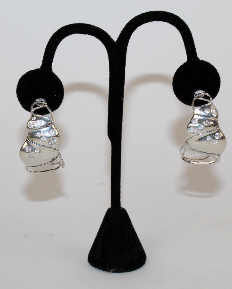 John Hardy sterling earrings - 3