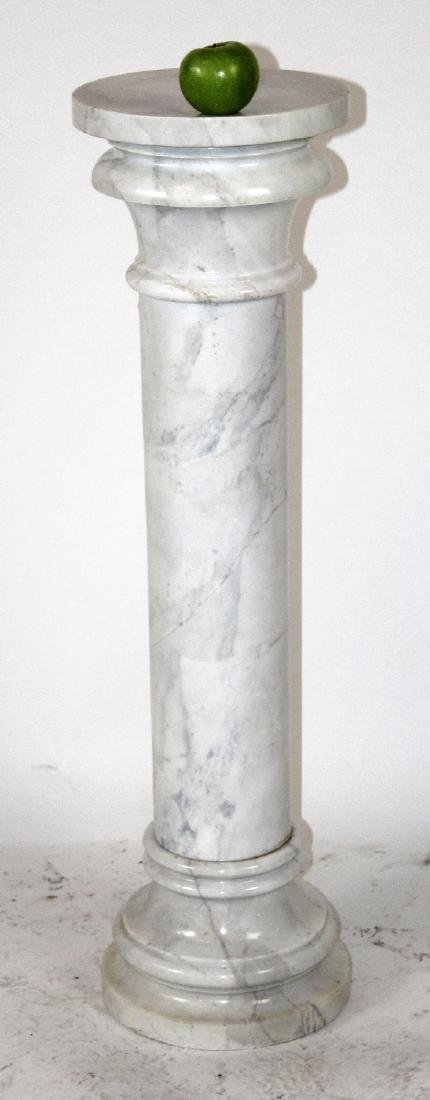 White marble classical column - 2