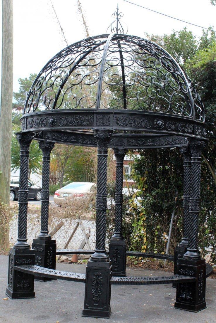 Cast iron gazebo with dome - 2