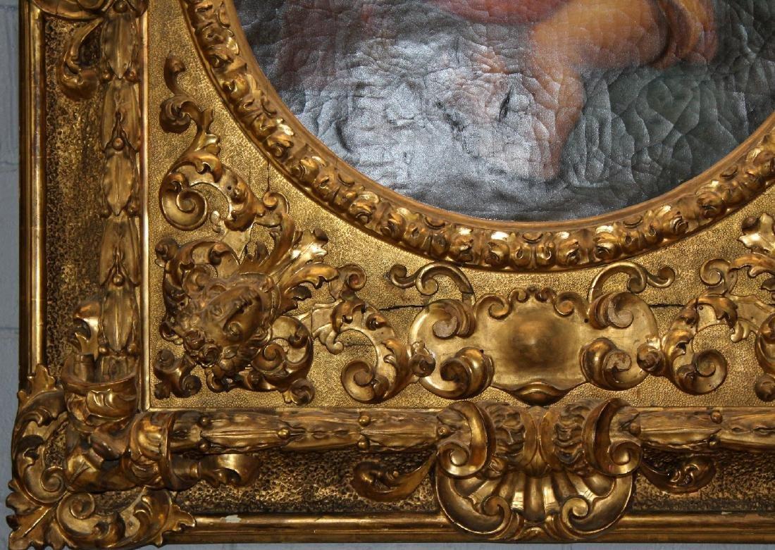 Madonna della Sedia. 19th century oil on canvas. After - 4