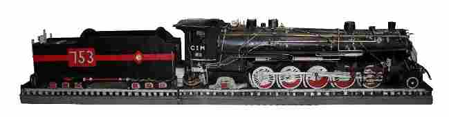 Large scale model of a train