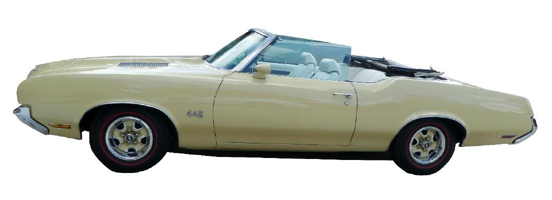 1972 Oldsmobile Cutlass 442