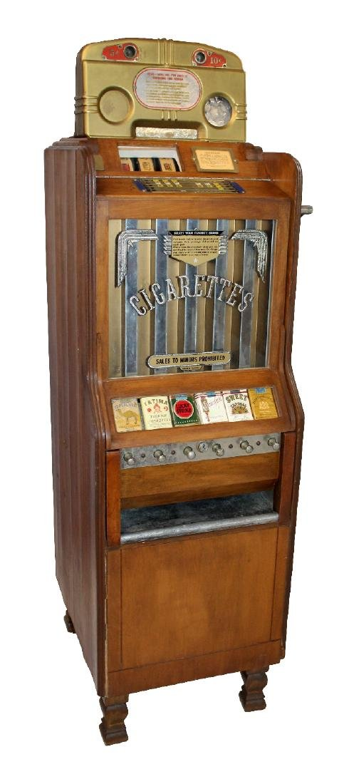 Pace Art Deco cigarette vending machine