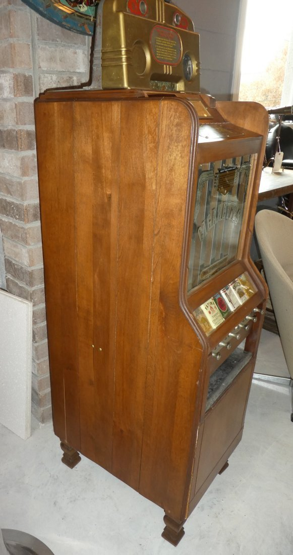Pace Art Deco cigarette vending machine - 6