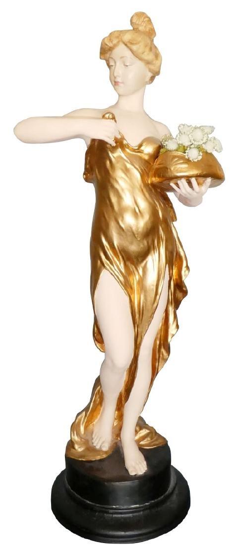 Friedrich Goldscheider Art Nouveau figural sculpture