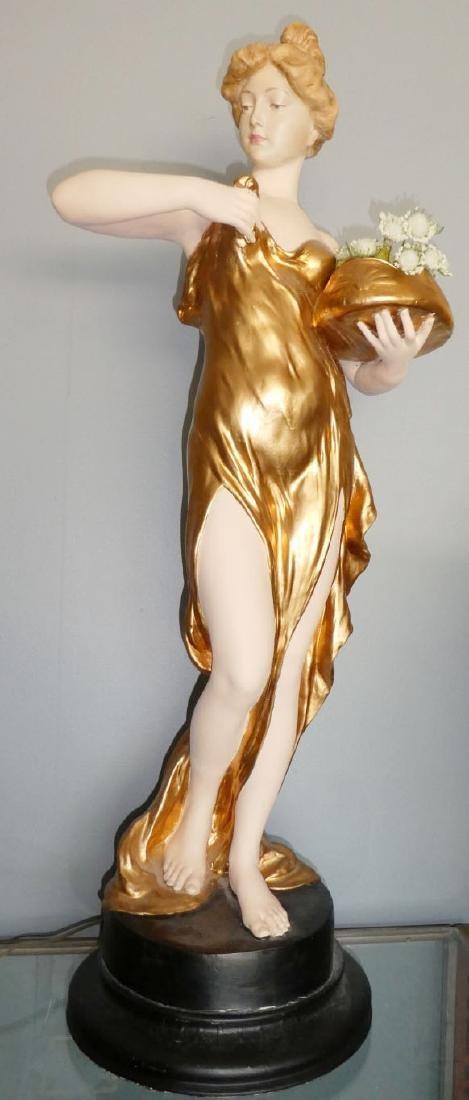 Friedrich Goldscheider Art Nouveau figural sculpture - 2