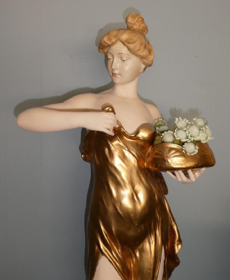 Friedrich Goldscheider Art Nouveau figural sculpture - 3