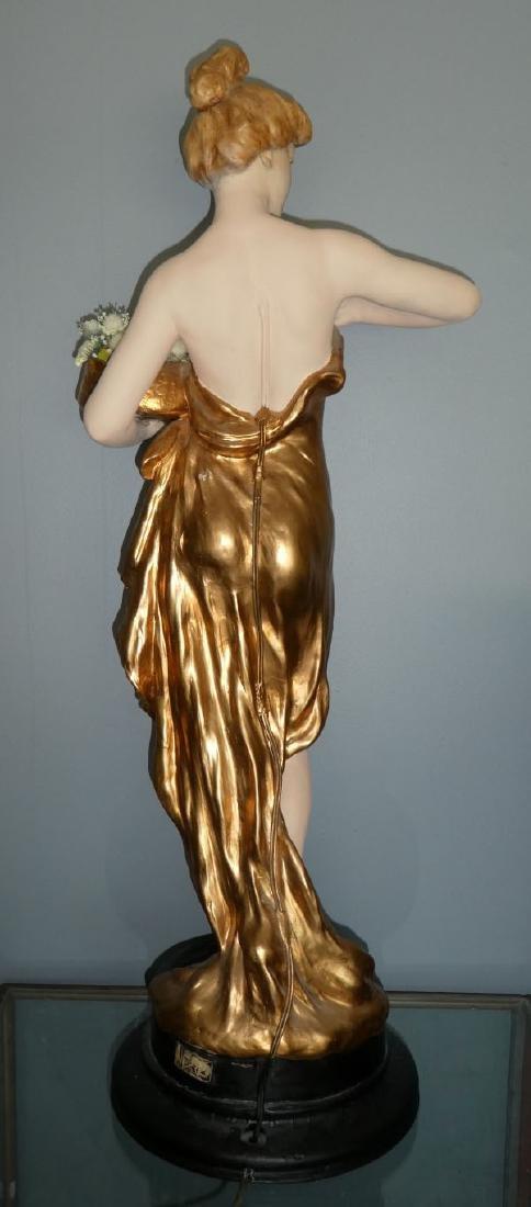 Friedrich Goldscheider Art Nouveau figural sculpture - 5