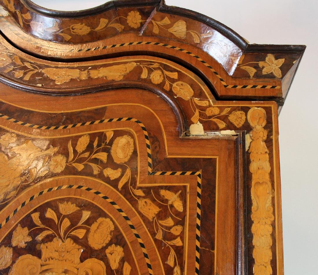 Dutch Neo-Classical marquetry cabinet - 2
