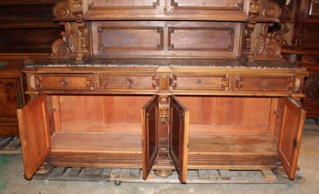 Grand scale French Renaissance buffet - 2
