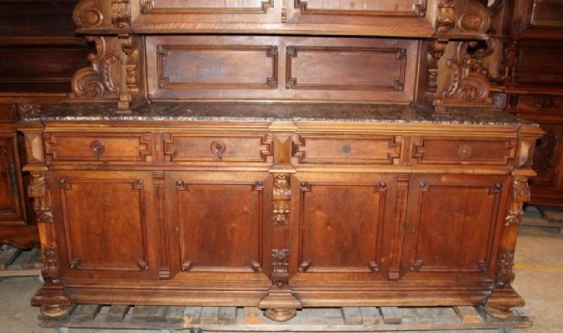 Grand scale French Renaissance buffet - 4