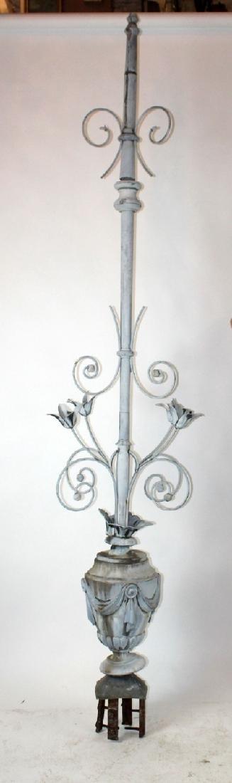 French 19th century zinc weathervane