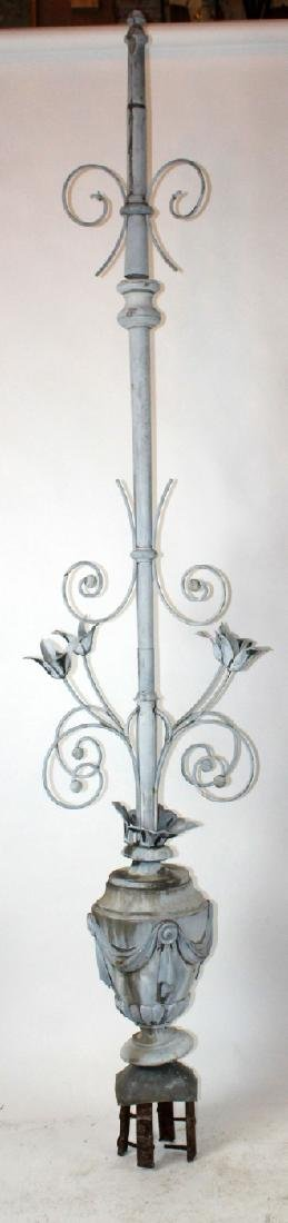 French 19th century zinc weathervane - 3