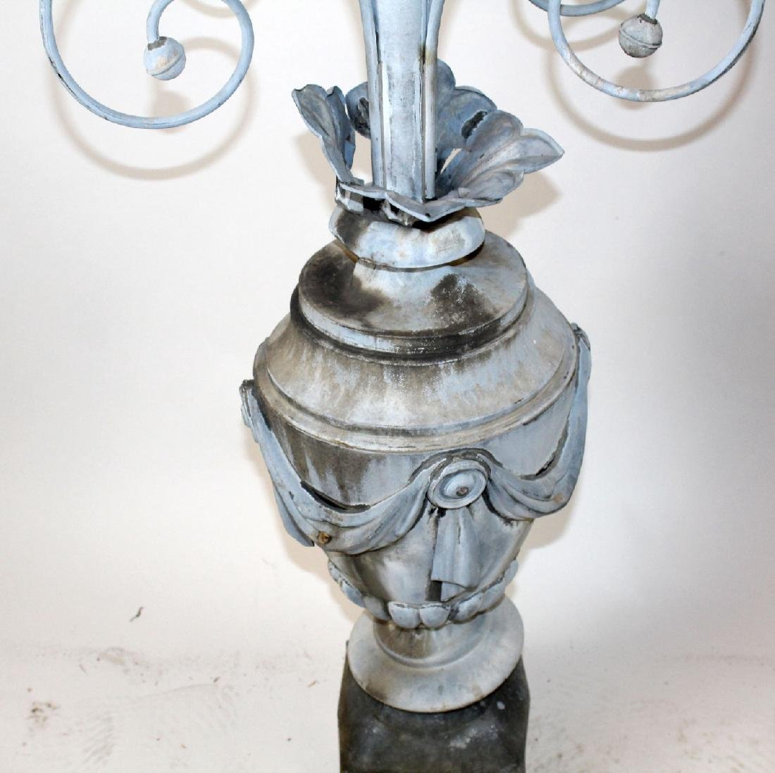 French 19th century zinc weathervane - 4