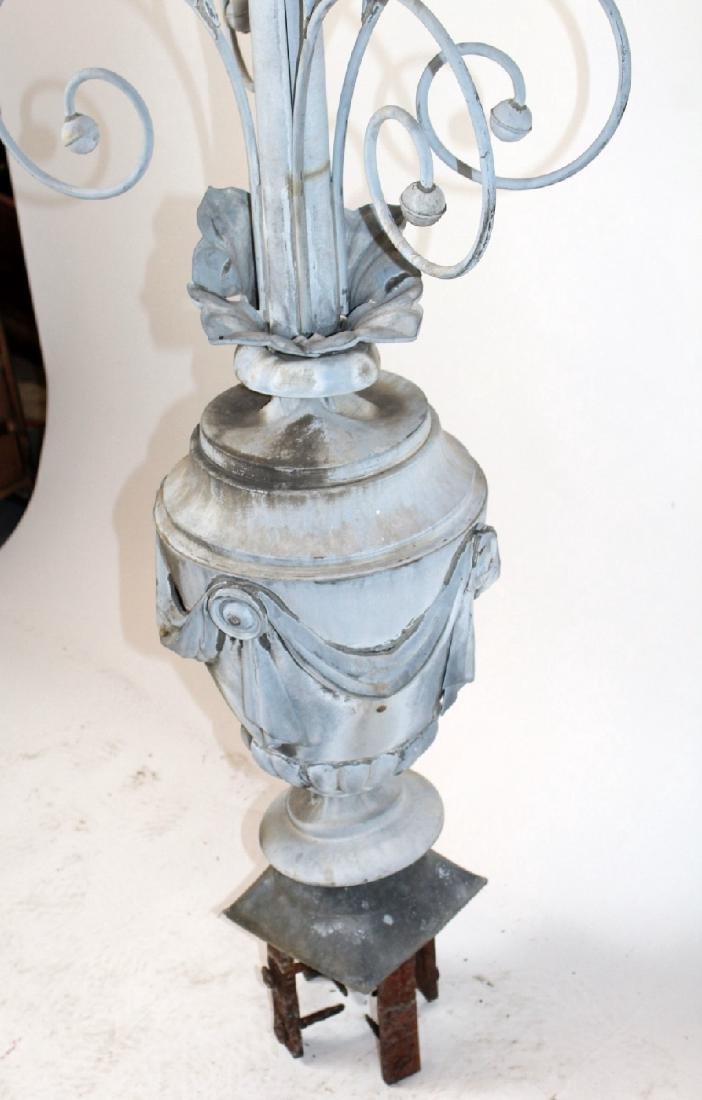 French 19th century zinc weathervane - 7