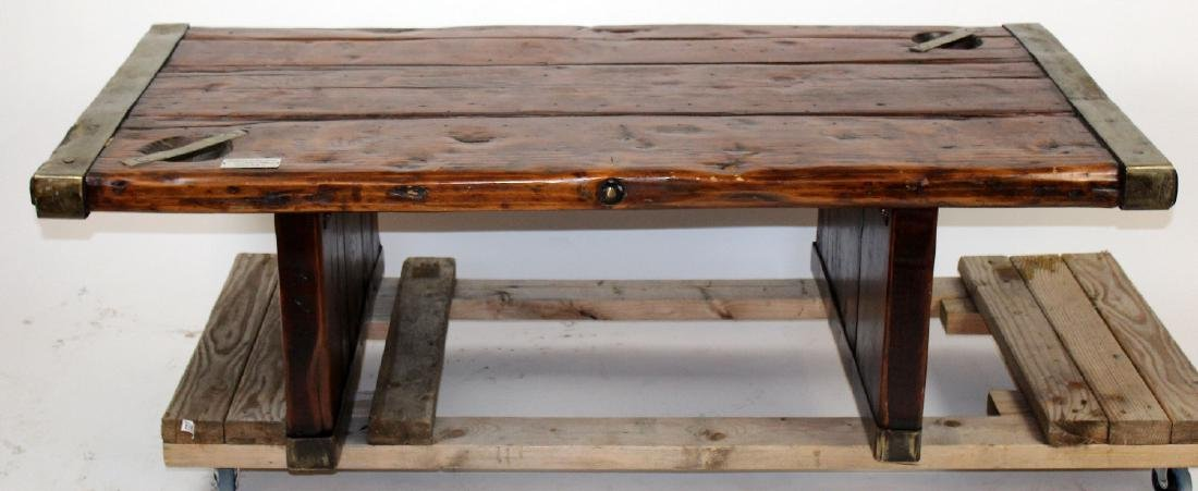 U.S. Liberty hatch cover coffee table