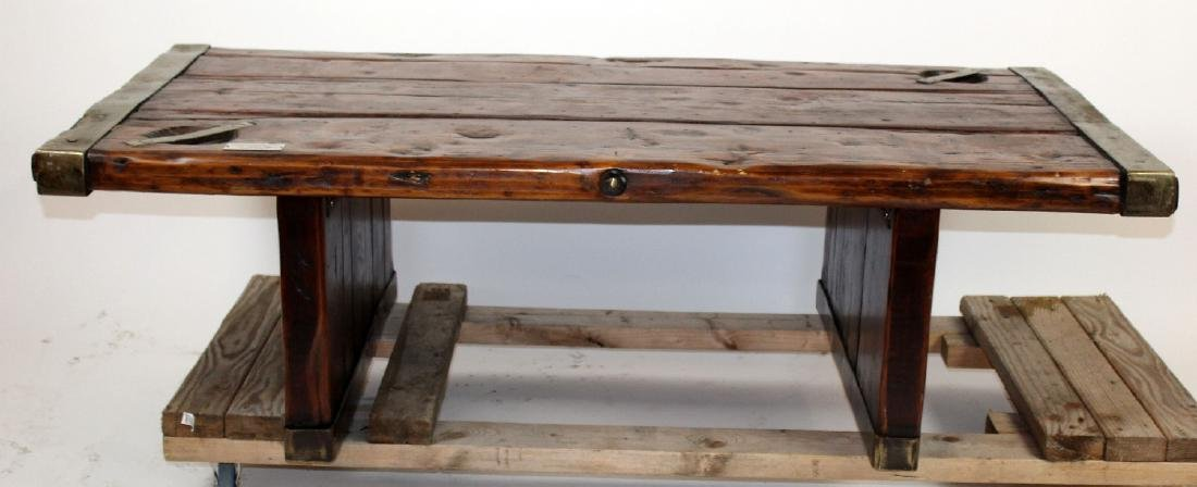 U.S. Liberty hatch cover coffee table - 2