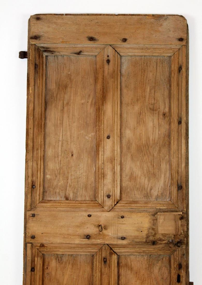 French rustic door with iron studs - 3