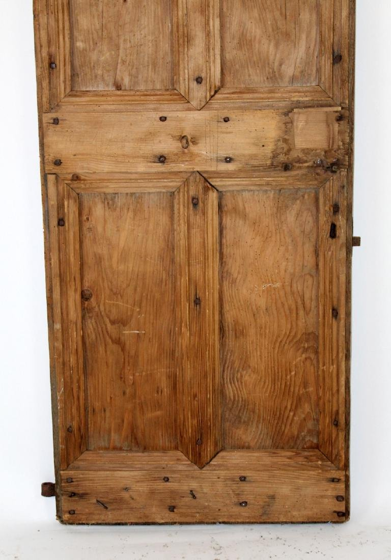 French rustic door with iron studs - 4