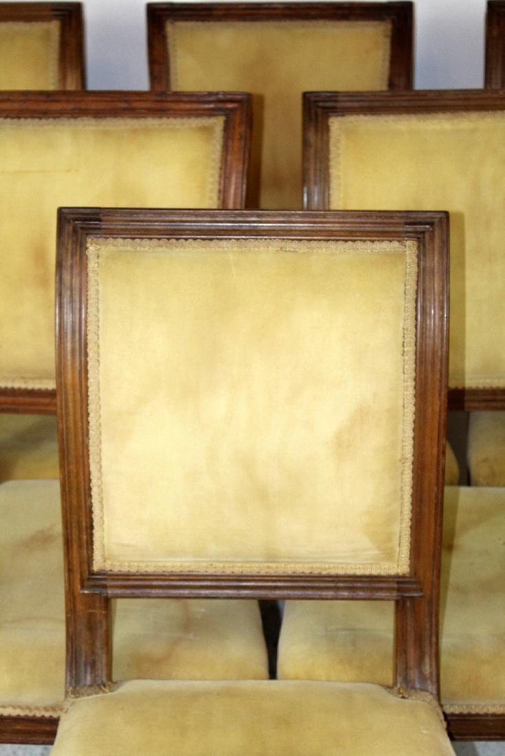 6 Louis XVI dining chairs - 4