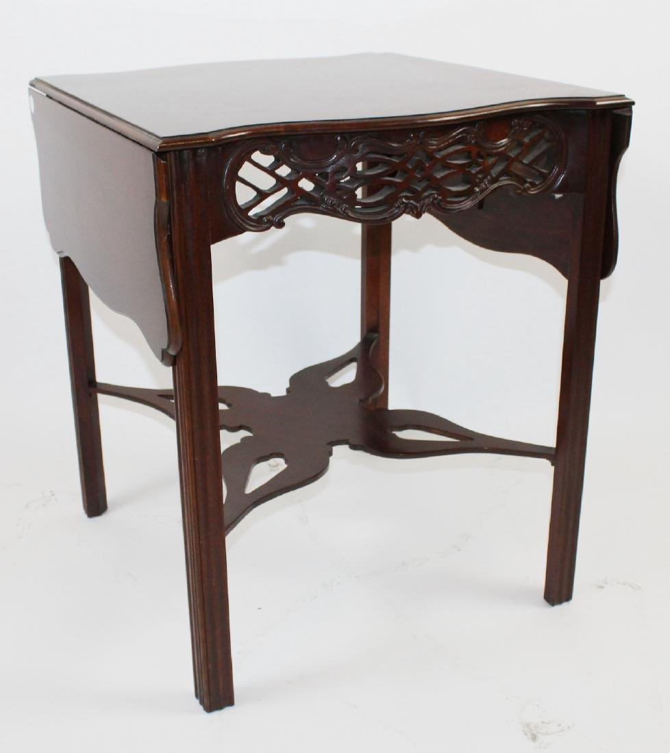 Baker mahogany dropside table