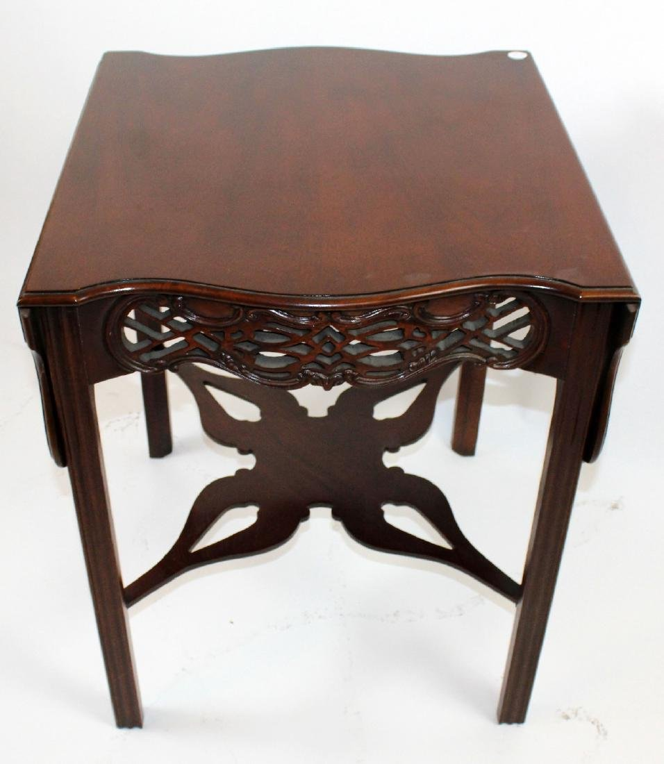 Baker mahogany dropside table - 3