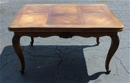French Louis XV drawleaf table